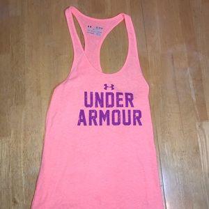 Under Armour Peach Tank